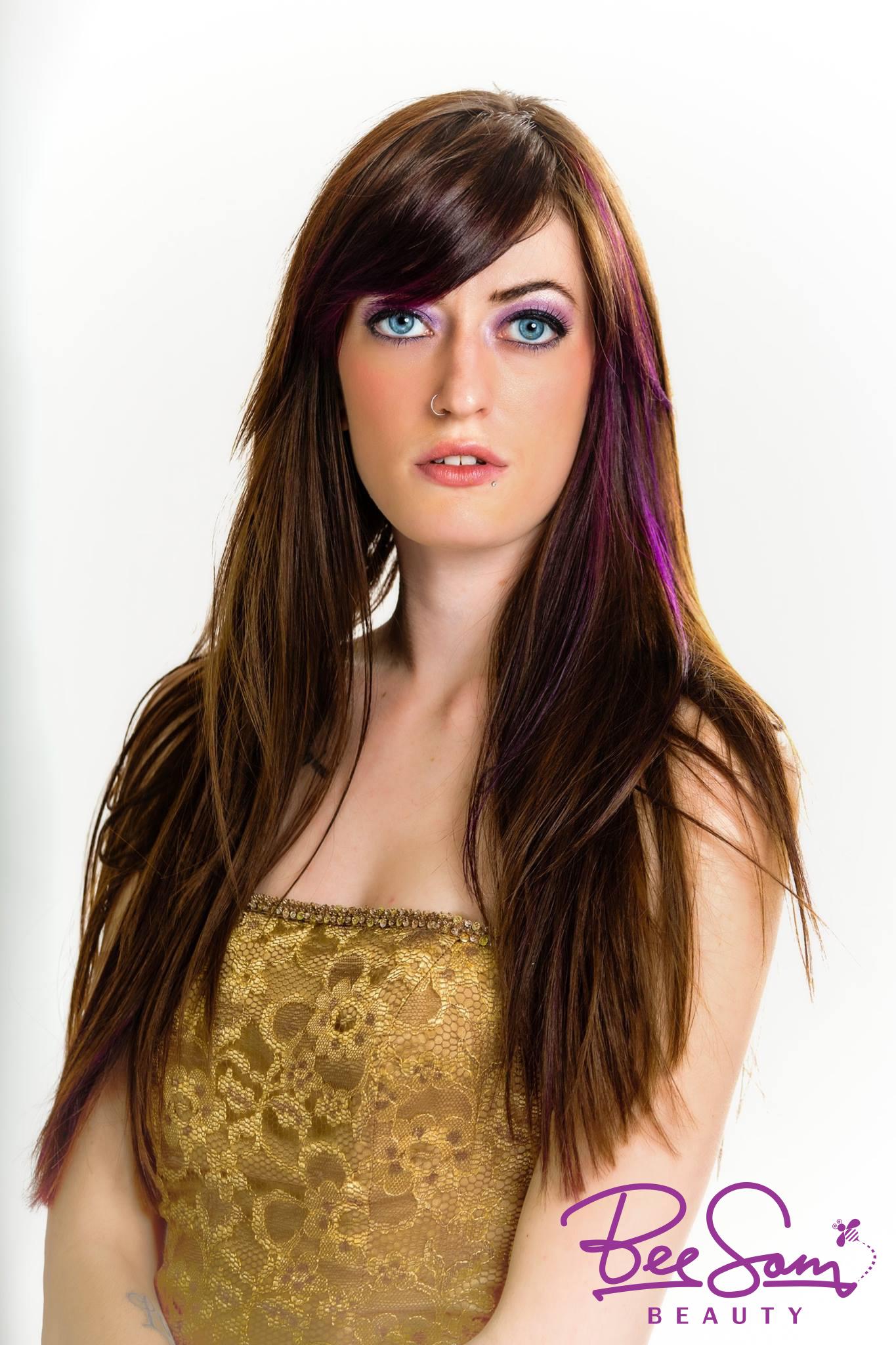 Peekaboo Hair Color Peek A Boo Highlights Vancouver Wa